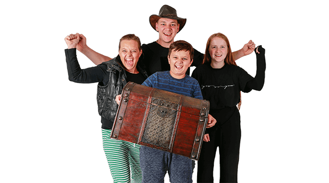 Familie escape room